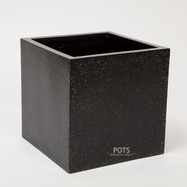 Lightweight-Terrazzo-Cube-Black-LW-TZ08MS-Small-WM