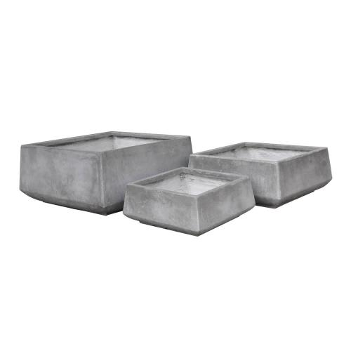 StoneLite-Romano-Low-Square-Pot-81030-cement