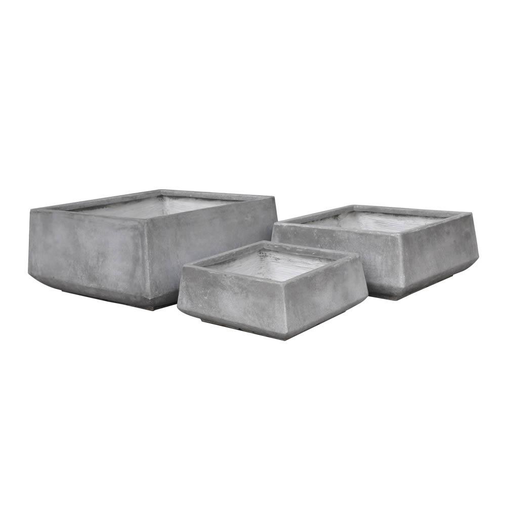 StoneLite-Romano-Low-Square-Pot-81030-cement