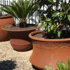 Line 2 – GRC – Bell Planter – Rust – GPOND5 (1)