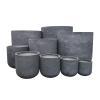 Line 1 – Stonelite – Tall Tub Planter – Concrete (3) – 81209